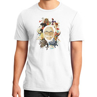 Miyazaki san District T-Shirt (on man)