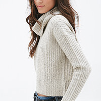 FOREVER 21 Boxy Turtleneck Sweater
