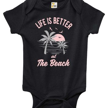Baby Bodysuit - Life is Better at the Beach