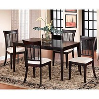 Bayberry Rectangle Dining Room Set - Dark Cherry