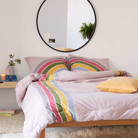 Rainbow Striped Comforter | Urban Outfitters