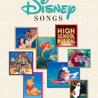 The New Illustrated Treasury Of Disney Songs: Piano - Vocal - Guitar