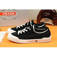 prada men fashion boots fashionable casual leather breathable sneakers running shoes 82