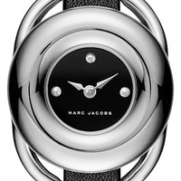 MARC BY MARC JACOBS 'Jerrie' Leather Strap Watch, 28mm | Nordstrom