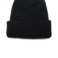 Knit Watch Cap Black