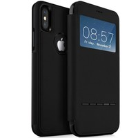 iPhone X S-View Leather Flip Case Apple Lightweight Protective Folio Stand Cover