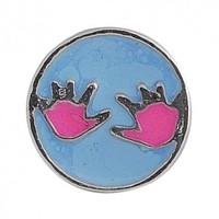 Floating Baby Hands Charm Compatible With Origami Owl Lockets