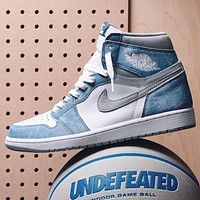 Nike Air Jordan 1 Retro High Hyper Royal Basketball Shoes Sneakers