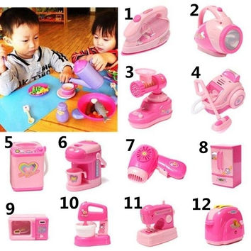 13 Pattern Baby Kids Appliances Toy Educational Pretend Play Housework Childhood = 1945703428