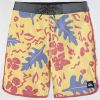 Quiksilver Og Scallop Mens Boardshorts Yellow  In Sizes