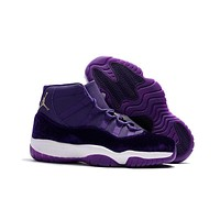 Air Jordan 11 Retro Aj11 Velvet Heiress Purple Sneaker Shoes Us7 13