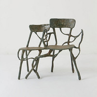 Intertwined Double Armchair