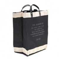Market Bag By Apolis Global Citizen - Black - bags & wallets - PERSONAL ACCESSORIES