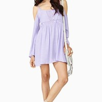 Meadow Crochet Dress - Lilac