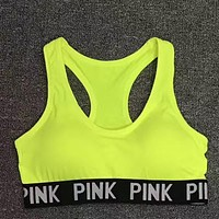 PINK Victoria's Secret Women Fashion Sport Yoga Underwear Bralette Brassiere Bra