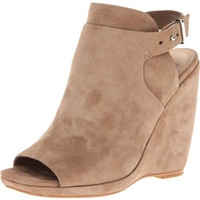 Dolce Vita Womens Mosey Suede Solid Wedge Heels