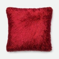 Loloi Red Decorative Throw Pillow (P0245)