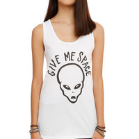 Give Me Space Alien Girls Tank Top