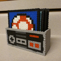 Nintendo Controller with 4 coasters