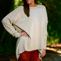 Just Between Us Sweater, Natural