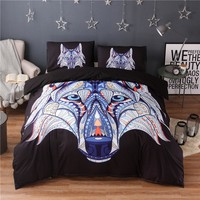 Wolf Spirit Guide Bedding Duvet Cover Set