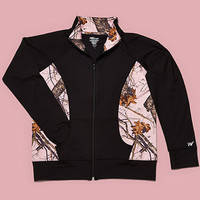Pink Mossy Oak Activewear Jacket
