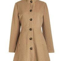 Tulle Clothing Long Long Sleeve Playwright on Time Coat
