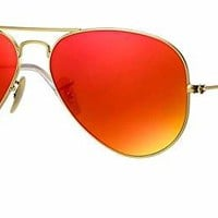 Ray Ban RB3025 Polarized Metal Aviator Sunglasses Aviator