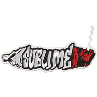 Sublime Men's Doobie Embroidered Patch White