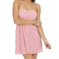 Sweetheart Keyhole Lace Dress   Shop Just Arrived at Wet Seal