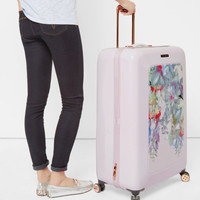 Hanging Gardens large suitcase - Nude Pink   Bags   Ted Baker ROW