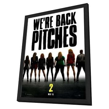 Pitch Perfect 2 11x17 Framed Movie Poster (2015)