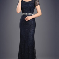 Embellished Mermaid Ball Gown