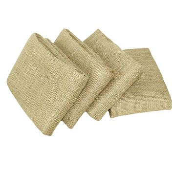COTTON CRAFT - Burlap 4 Pack Potato Sack Race Bag 24x 39 Inch - Made from Sturdy Rugged 100% Natural Eco-Friendly Jute Burlap 4 Pack Natural - 24x39 Inches