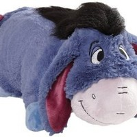 "Pillow Pets Authentic Disney 18"" Eeyore, Folding Plush Pillow- Large"