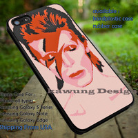 Ziggy Stardust David Bowie Cross Stitch iPhone 6s 6 6s+ 5c 5s Cases Samsung Galaxy s5 s6 Edge+ NOTE 5 4 3 #music #db dt