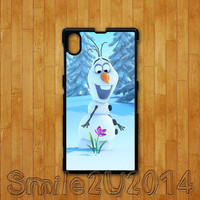 Frozen,Olaf,Sony Xperia Z case,Sony Xperia Z1 case,Google Nexus 4 case, Google Nexus 5 case, sony Xperia Z1 cover,Sony Xperia Z cover