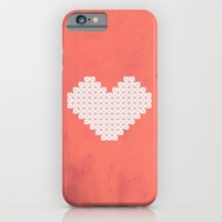 Heart X Red iPhone & iPod Case by Fimbis