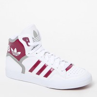 White High-Top Sneakers - Womens Shoes - White