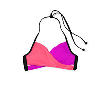 Body Wrap Top - PINK - Victoria's Secret