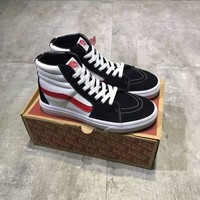 """VANS"" Unisex Classic Multicolor High Help Plate Shoes Couple Casual Skateboard Shoes"