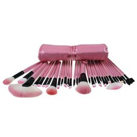 Tools Professional Beauty 32-pcs Pink Makeup Brush Sets Stylish Brush [6532362055]