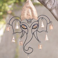 Mighty Ganesh Wind Chime