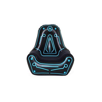 Bestway Inflatable Gaming Chair   Air Chair for Adults and Kids   Comfortable Backrest and Oversized Armrests for Lounging   Mesh Pocket for Video Game Controller Storage