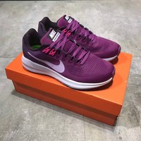 """Nike Air Zoom Structure 21"" Women Sport Casual Fashion Breathable Running Shoes Sneakers"