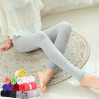 women candy color cropped length cotton leggings one size fits all 20 colors = 1958800452