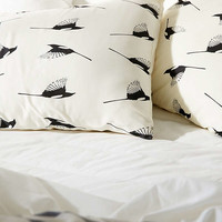 Elisabeth Fredriksson For Deny Magpies Pillowcase Set | Urban Outfitters
