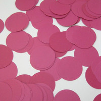 HOT PINK Jumbo Confetti - Party Decoration, Table Scatter