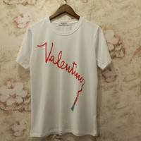 VALENTINO Woman Men Fashion Tunic Shirt Top Blouse