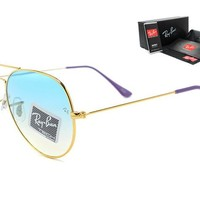 Ray-Ban sunglass AA Classic Aviator Sunglasses, Polarized, 100% UV protection [2974244919]